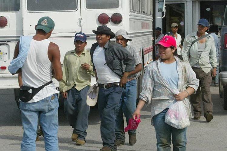Guatemaltecos indocumentados en Miami, Florida, esperan en las calles a ser contratados para trabajos temporales. (Foto Prensa Libre: HemerotecaPL)