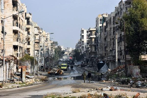 El cese el fuego busca alcanzar una solución política para toda Siria.(AFP).