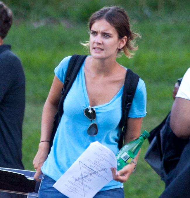 Emily Thomas quiere hacer carrera en el negocio del cine (Foto: Hemeroteca PL).