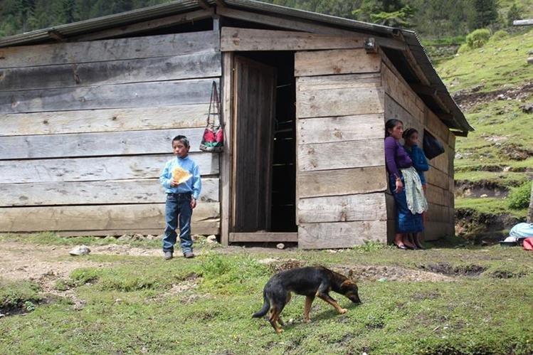 El area rural es donde viven más personas pobres, pobres extremos y pobres ultraextremos, segun un informe del PNUD. (Foto Prensa Libre: Hemeroteca PL)