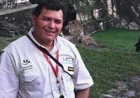 Oswaldo Chí Dubón, quien trabajaba en el Parque Nacional Tikal en la sección de Enfermería. (Foto Prensa Libre: Cortesía)