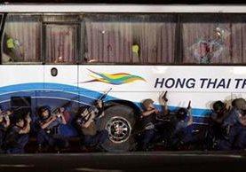 """<p>Policía toma autobús secuestrado por un ex agente.<br _mce_bogus=""""1""""></p>"""