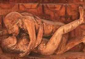 """El Kama Sutra -representado aquí en un relieve en Nepal- es un nombre conocido mundialmente. Pero """"El jardín perfumado"""" podría hacer sonrojar a su autor. ALAMY"""