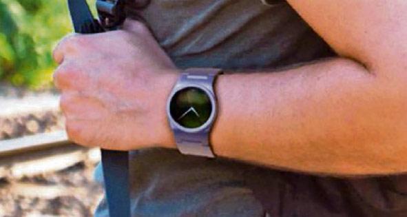 """Blocks se compone, inicialmente, de una """"plataforma central"""", es decir, un reloj inteligente aparentemente como cualquier otro. (Foto Prensa Libre: Chooseblocks.com)"""