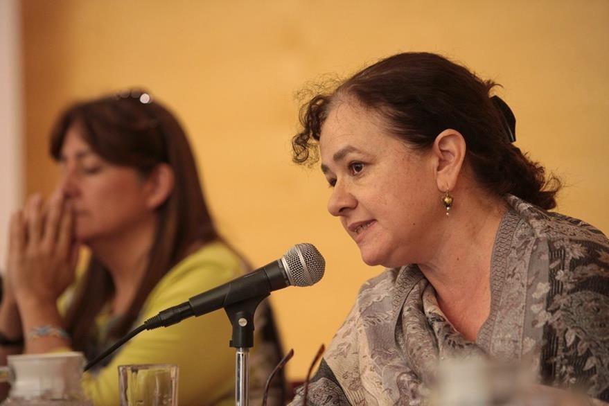 Claudia Paz, del gurpo que investiga caso de Ayotzinapa en México. (EFE)