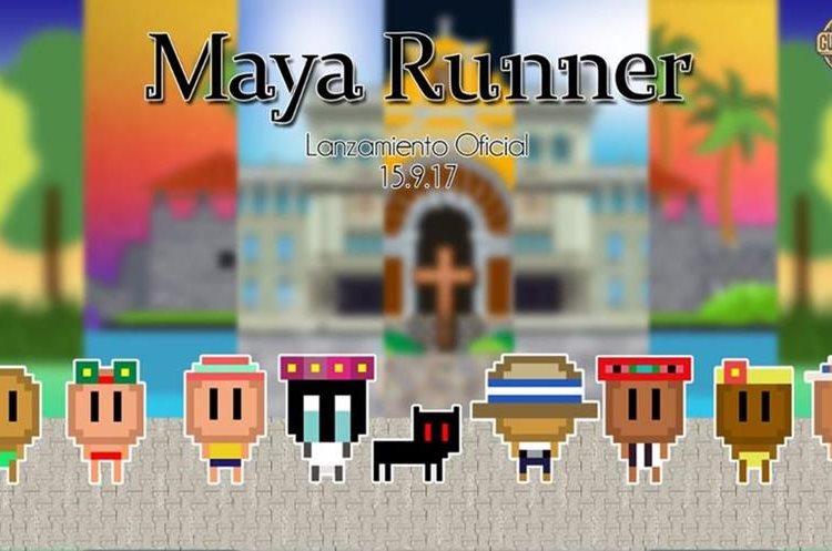 """""""Maya Runner"""" ganó como mejor juego extranjero en el certamen de videojuegos en Paraguay.(Prensa Libre: Dony Stewart.)"""