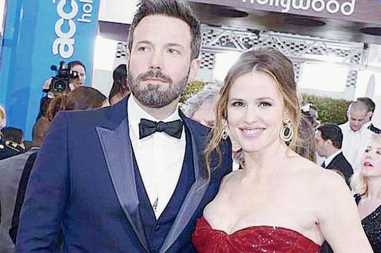 Ben Affleck y Jennifer Garner dieron por terminada su relación (Foto Prensa Libre: Hemeroteca PL)