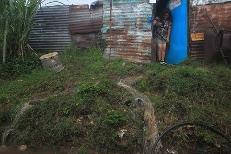 Se espera que este jueves se incremente la intensidad lluvia en el territorio nacional. (Foto Prensa Libre: Hemeroteca)