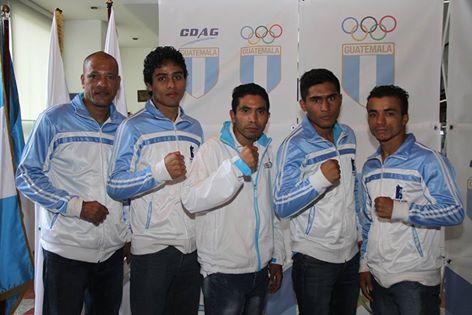 Los boxeadores nacionales que buscarán el pase a Río 2016. (Foto Prensa Libre: Cortesía COG)