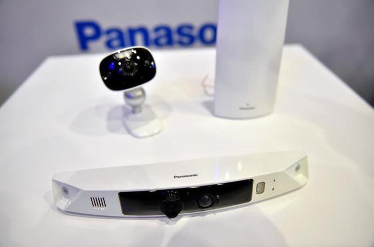 HomeHawk HD, el dispositivo de Panasonic para el monitoreo del hogar (Foto Prensa Libre: AFP).