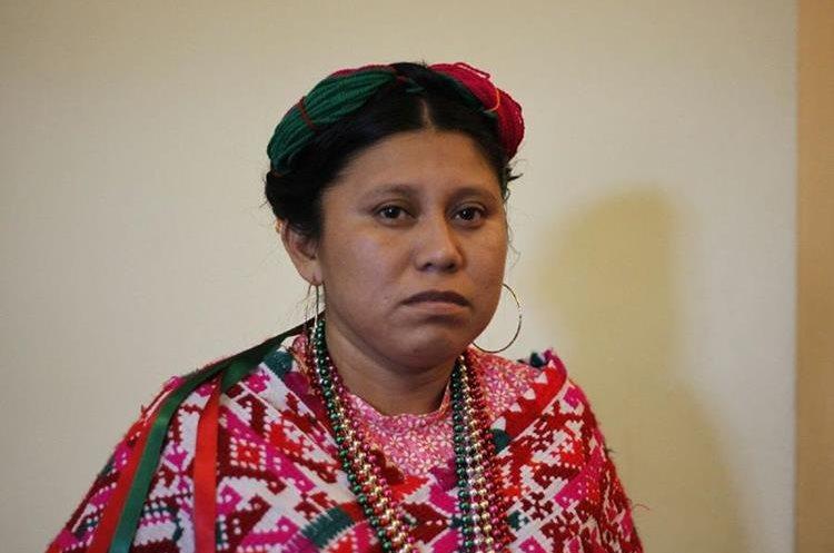 María Salvador, México  Clausura del VII encuentro continental de mujeres indígenas de las Américas. La actividad se llevó a cabo en el hotel Conquistador Ramada en la zona 4 de la Ciudad de Guatemala.   Fotos: Paulo Raquec  19/11/2015