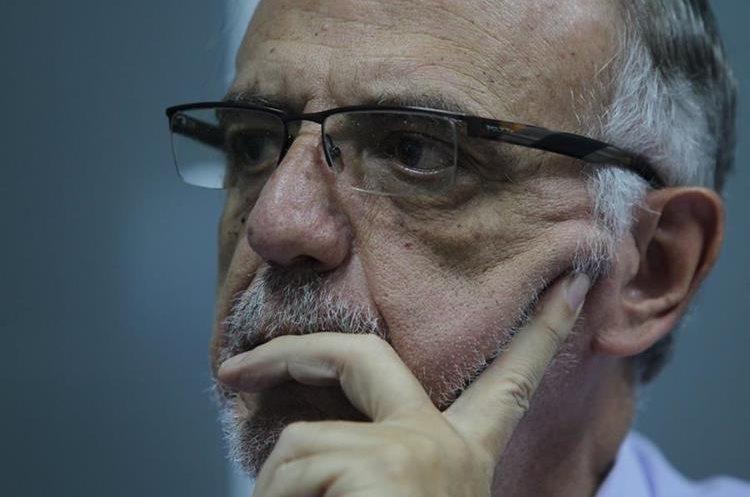 Iván Velásquez manifiesta que Cicig no ha ejercido presión en torno a la reforma constitucional a favor del sector justicia. (Foto Prensa Libre: Erick Avila)