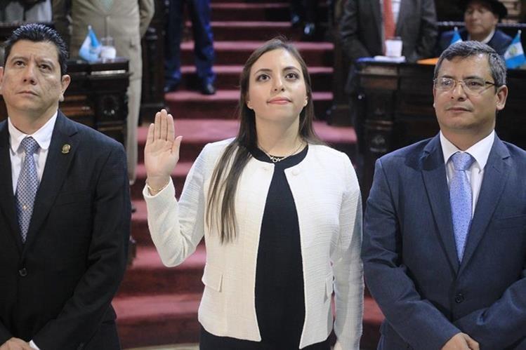 Villagrán fue asesora de los ministerios de Cultura y Comunicaciones, y se define como socialdemócrata. (Foto Prensa Libre: Esbin García)
