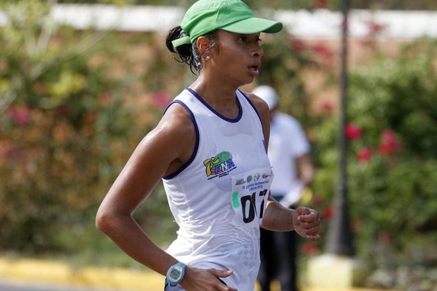 Jamy Franco obtuvo medalla de plata. (Foto Prensa Libre: FedeAtletismo)