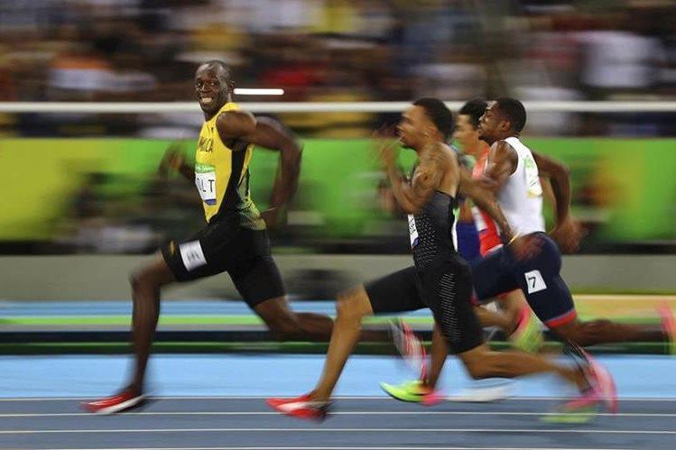 Usain Bolt es el máximo velocista de todos los tiempos. (Foto Prensa Libre: AP).