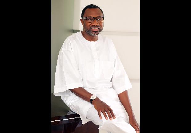 El millonario nigeriano Femi Otedola. (Forbes)