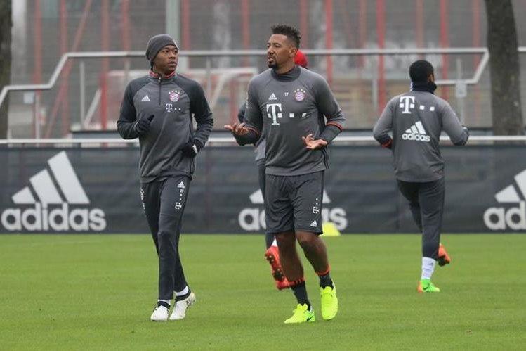 El Bayern entrena por última vez este martes antes de recibir la visita del Arsenal en la ida de los octavos de final de la Champions. (Foto Prensa Libre: Bayern Munich)