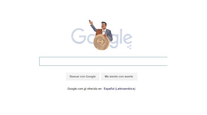 Google recuerda al ídolo mexicano. (Foto Prensa Libre: Hemeroteca PL)