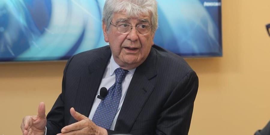 El ex vicepresidente Rafael Espada en entrevista con Prensa Libre. (Foto Prensa Libre: Hemeroteca PL).