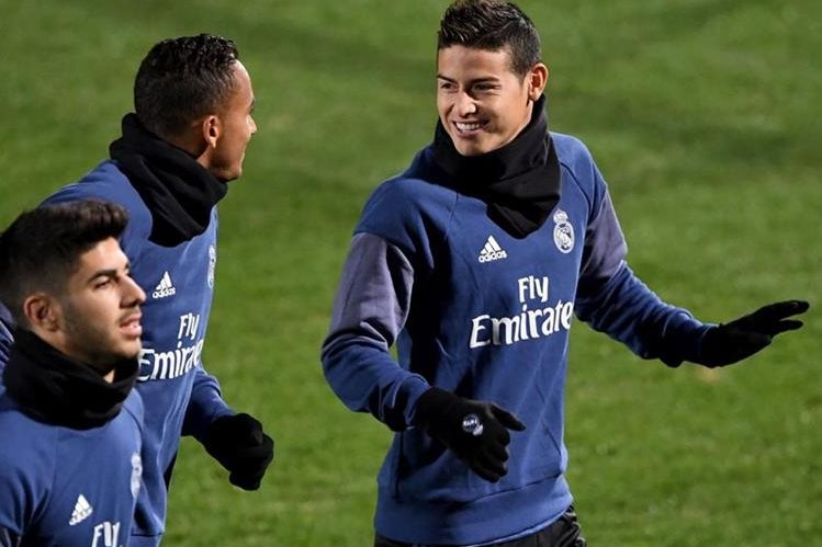 James Rodríguez es uno de los futbolistas por los que el Mónaco pagó a la hacienda española. (Foto Prensa Libre: Hemeroteca PL)
