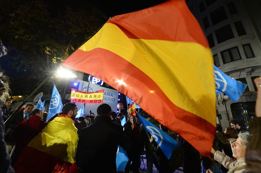 Analistas dicen que España vivió una jornada histórica. (Foto Prensa Libre: AFP).