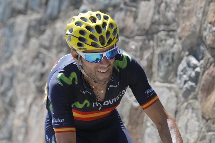 Alejandro Valverde es el gran favorito de la Clásica de San Sebastián. (Foto Prensa Libre: AP)