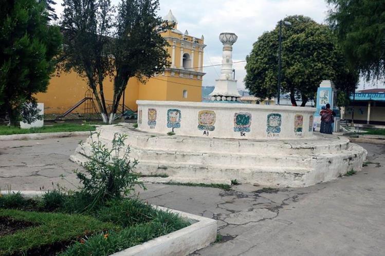 El parque de Olintepeque será remodelado por la Municipalidad. (Foto Prensa Libre: Carlos Ventura)