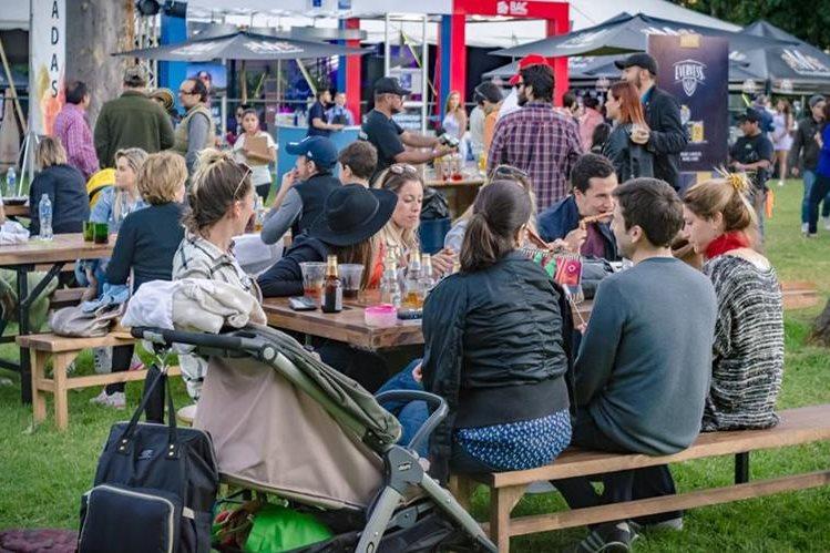 El festival promueve espacios de distracción sana para convivir con familia o amigos. (Foto Prensa Libre: Cortesía)