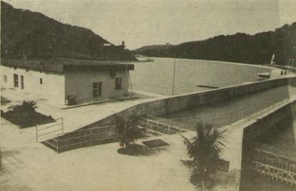 Cuarto de máquinas de Aguacapa; foto del 30 de octubre de 1981. (foto: Hemeroteca PL)