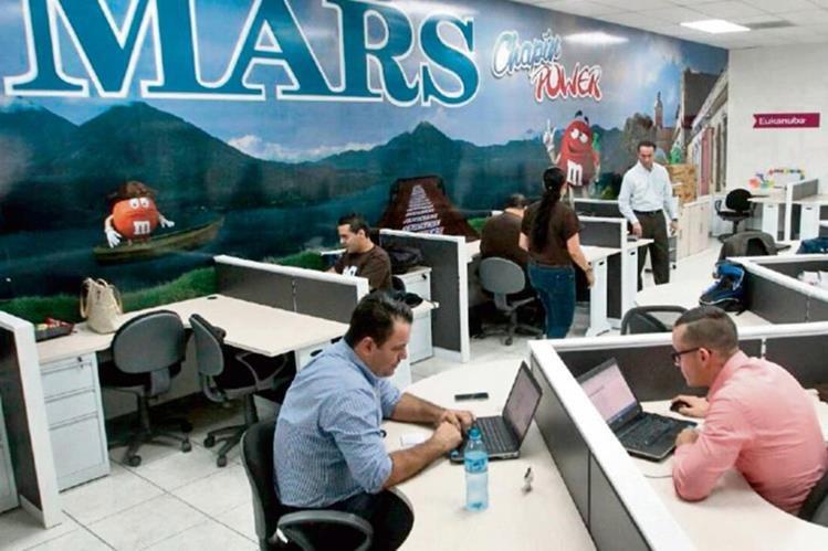 El talento humano, dinamismo y creatividad resaltaron los ejecutivos del personal en Guatemala.