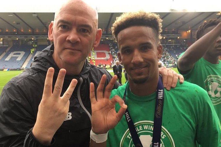 El Celtic sigue siendo uno de los grandes de Europa y este sábado coronó su gran temporada con el triplete. (Foto Prensa Libre: Celtic/Twitter)