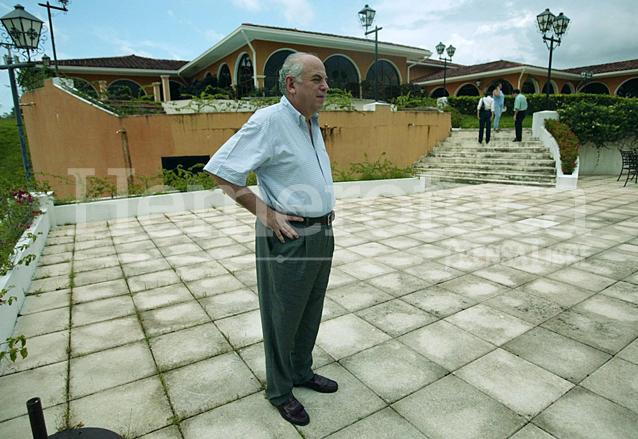 Serano Elías, en el exilio en Panamá. (Foto: Hemeroteca PL)