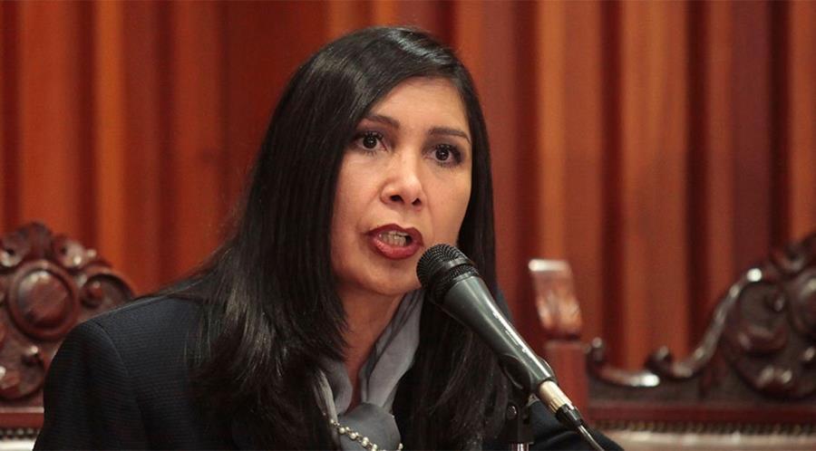 Gladys Gutiérrez, presidenta del Tribunal Supremo de Justicia de Venezuela.