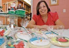 Sucely Galindo se preparó para emprender y por ahora desarrolla la preparación de la repostería en su hogar.