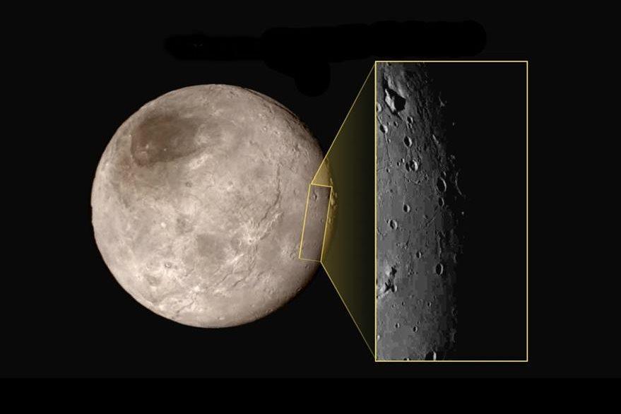 La Nasa estima que la llanura no tiene más de 100 millones de años y que Plutón todavía está tomando forma por medio de procesos geológicos que aún están activos. (Foto Prensa Libre: AFP).