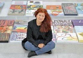 María Luisa Passarge es una de las creadoras de la idea. Ha viajado junto a la muestra por varios países de Latinoamérica.