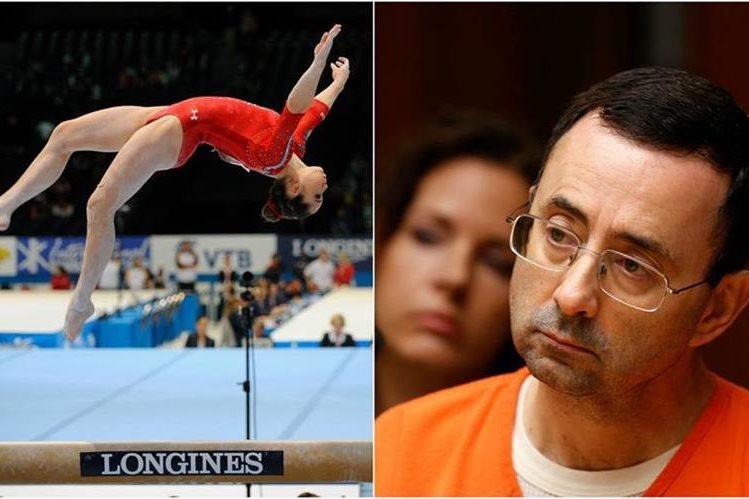 McKayla Maroney rompió el silencio y acusó al médico Larry Nassar. (Foto Prensa Libre: AFP)