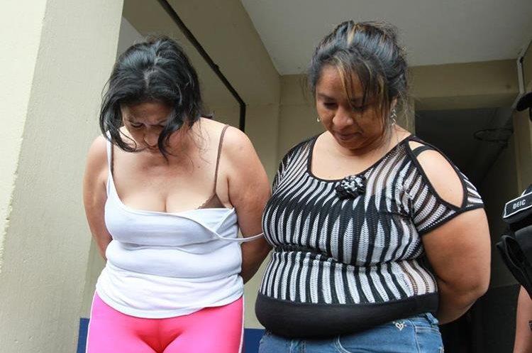 El 16 de abril del 2014 alias la Patrona fue capturada junto a seis agentes de la PNC.