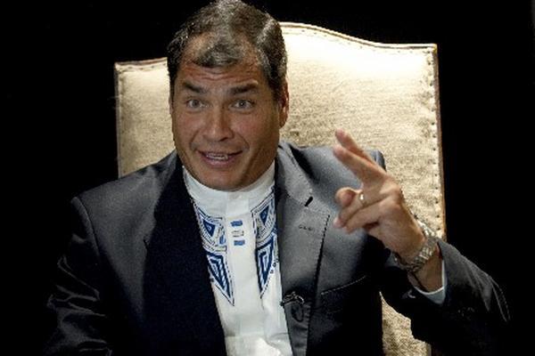 <p>El presidente de Ecuador, Rafael Correa.</p>