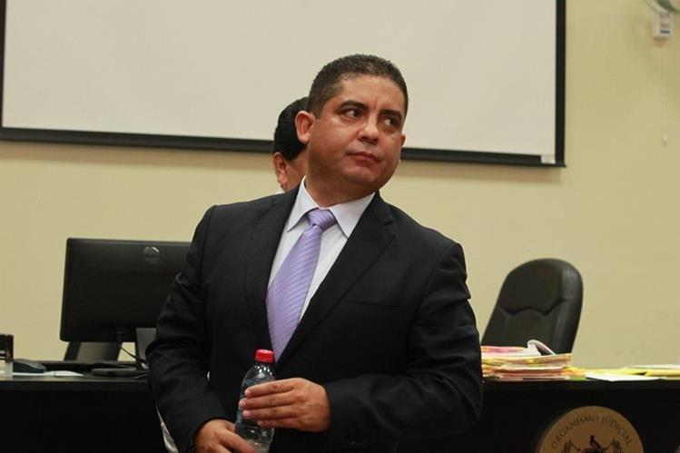 Juan Carlos Monzón Rojas, exsecretario privado de la Vicepresidencia. (Foto Prensa Libre: Hemeroteca PL)