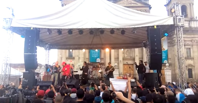 La banda guatemalteca Alux Nahual presenta videoclip y prepara nuevo álbum. (Foto Prensa Libre: Tomada de YouTube)