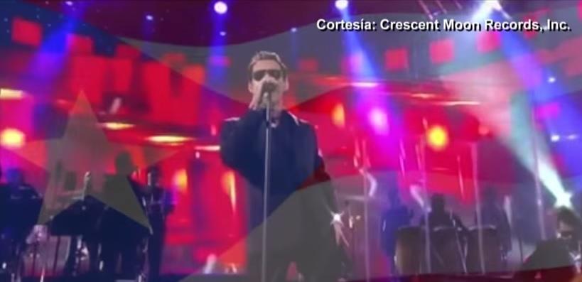 Imágenes de Marc Anthony aparecen en el clip de Emilio Estefan. (Foto Prensa Libre: Crescent Moon Records, Inc.)