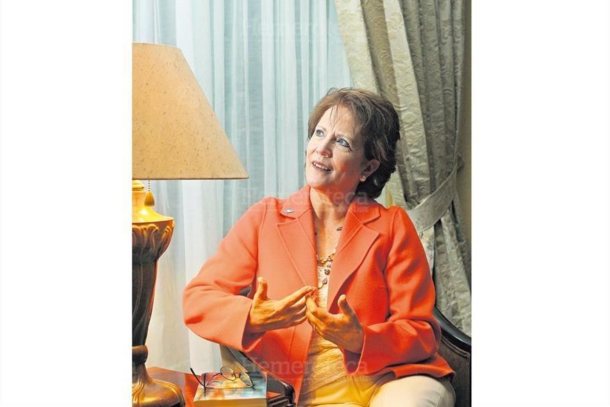 Wendy de Berger es el personaje del año 2007 por  su labor social el 6/1/2008. (Foto: Hemeroteca PL)