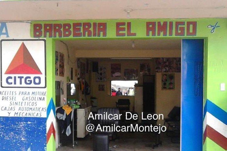 Este es el lugar en donde un ataque armado dejó a tres hombres heridos de bala. (Foto Prensa Libre: Cortesía Amílcar Montejo)