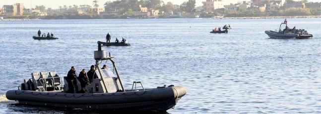 Autoridades y socorristas buscan a sobrevivientes en el Nilo. (Foto Prensa Libre: del sitio elnortedecastilla.es)