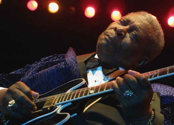 La leyenda del blues BB King, murió a los 89 años.(Foto Prensa Libre: AFP)