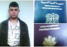 Un sirio fue detenido en el aeropuerto La Aurora por tener dos pasaportes que lo identificaban con nombres distintos. (Foto Prensa Libre: PNC)