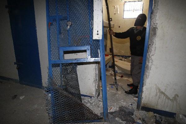 El 19 de noviembre último, los reos que se encontraban en la cárcel Fraijanes 2 se amotinaron y destruyeron el penal.