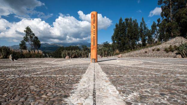 La línea del Ecuador marca la división entre el hemisferio norte y sur. (GETTY IMAGES)