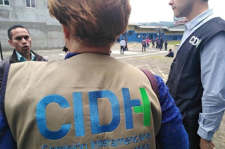 La CIDH visitó hogares de protección de niños y adolescentes. (Foto Prensa Libre: CIDH)